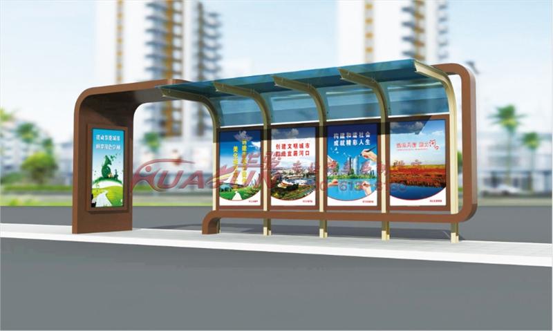 公交候车亭顶棚常用材质有哪些-